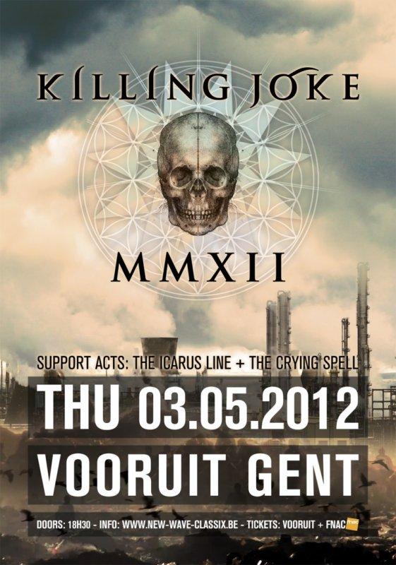 KILLING JOKE, Vooruit, Concertzaal, Gent