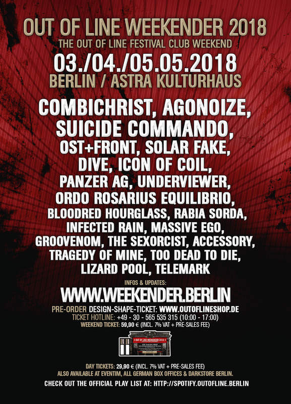 OUT OF LINE WEEKENDER - DAY 1, Astra Kulturhaus, 03/05/2018
