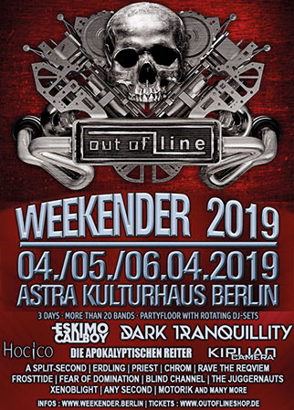 OUT OF LINE WEEKENDER - DAY 1, Astra Kulturhaus
