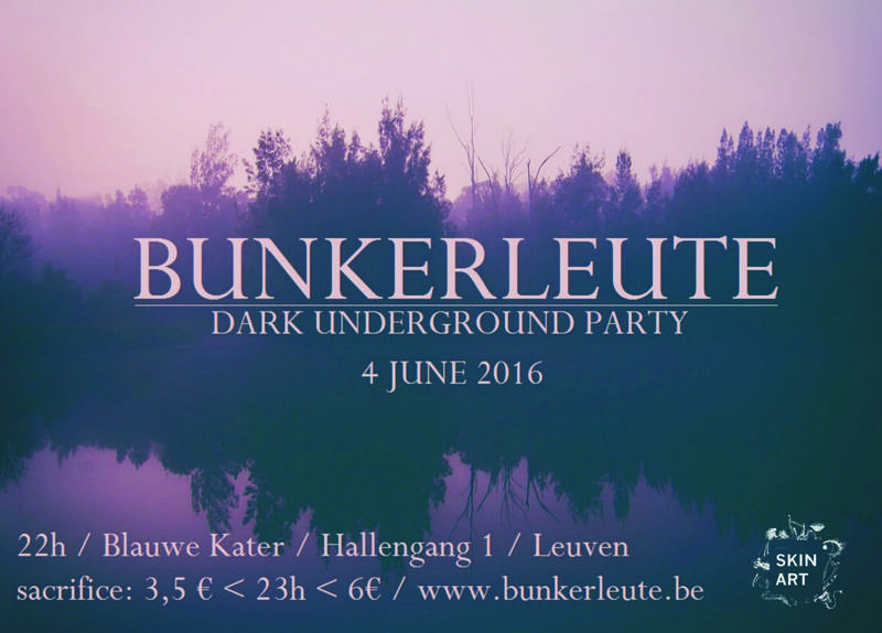 BUNKERLEUTE PARTY, Blauwe Kater