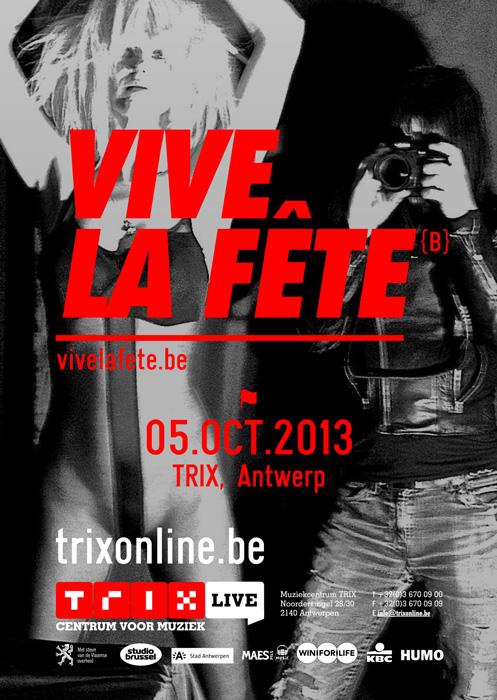 VIVE LA FêTE, Trix - Antwerp - B