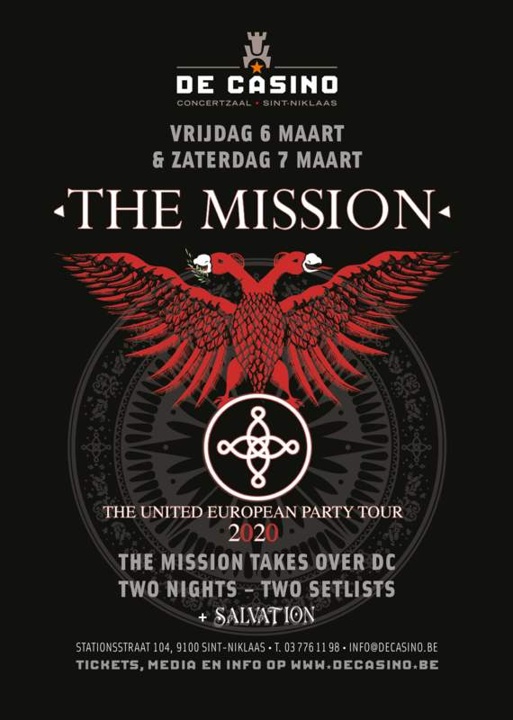 THE MISSION - THE UNITED EUROPEAN PARTY TOUR 2020, De Casino