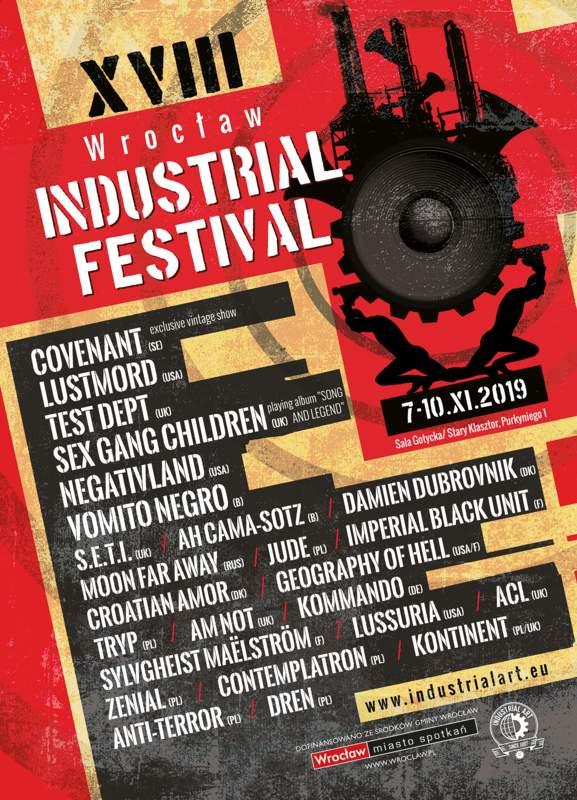 WROCLAW INDUSTRIAL FESTIVAL XVIII, Sala Gotycka / Gotic Hall