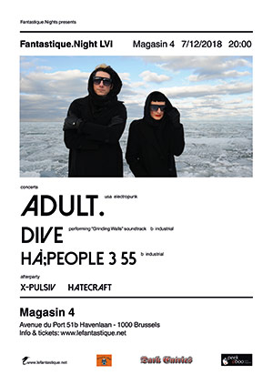 ADULT., DIVE, Hà;PEOPLE. 3. 55., Magasin 4, 07/12/2018