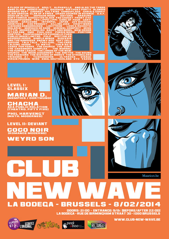 CLUB NEW WAVE - EPISODE 10, La Bogeda - Brussels