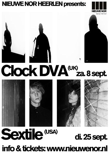 INPOET REUNIE 11: CLOCK DVA, De Nieuwe Nor