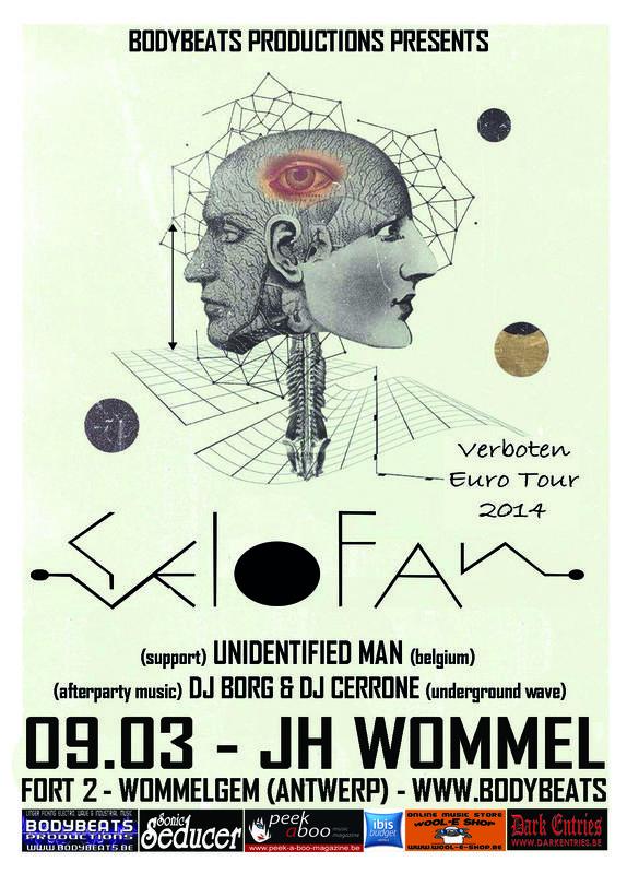 SELOFAN + UNIDENTIFIED MAN, Jh Wommel, Wommelgem, Antwerp