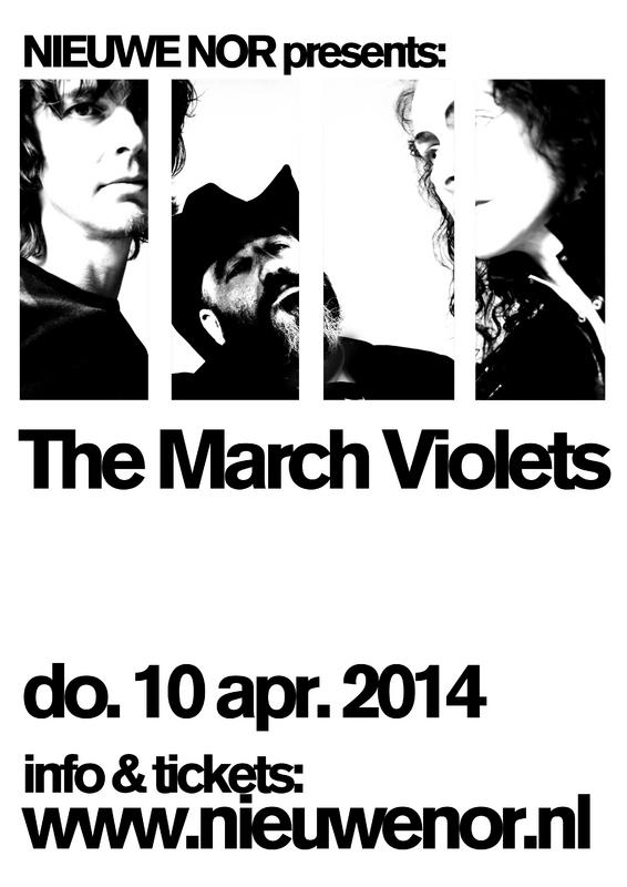 The March Violets, poppodium NIEUWE NOR, Heerlen, 10/04/2014