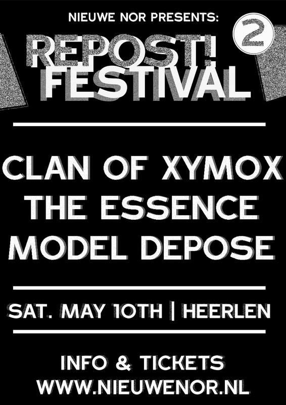 'Repost' ft. Clan of Xymox, poppodium NIEUWE NOR, Heerlen, 10/05/2014