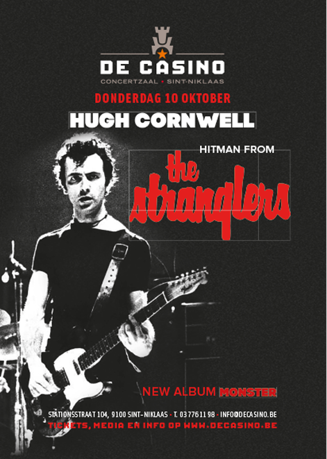 HUGH CORNWELL (THE STRANGLERS), De Casino