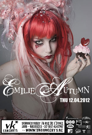 EMILIE AUTUMN, Vk* Brussels