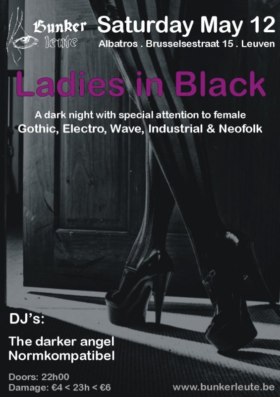 BUNKERLEUTE - LADIES IN BLACK, Albatros - Brusselsestraat 15 - Leuven