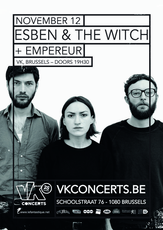 Esben and the Witch + Empereur, Vk*, 12/11/2014