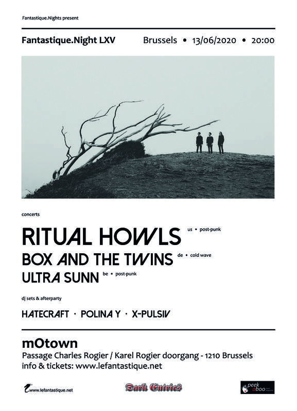 RITUAL HOWLS, BOX AND THE TWINS, ULTRA SUNN + AFTERPARTY, Motown
