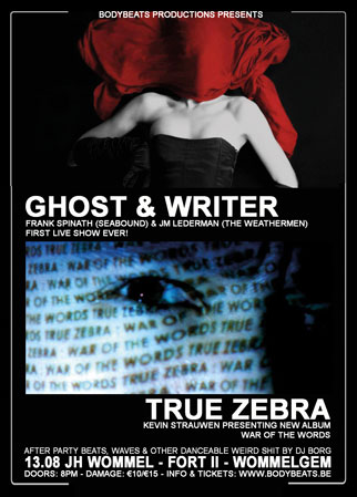 TRUE ZEBRA + GHOST & WRITER, Jh Wommel