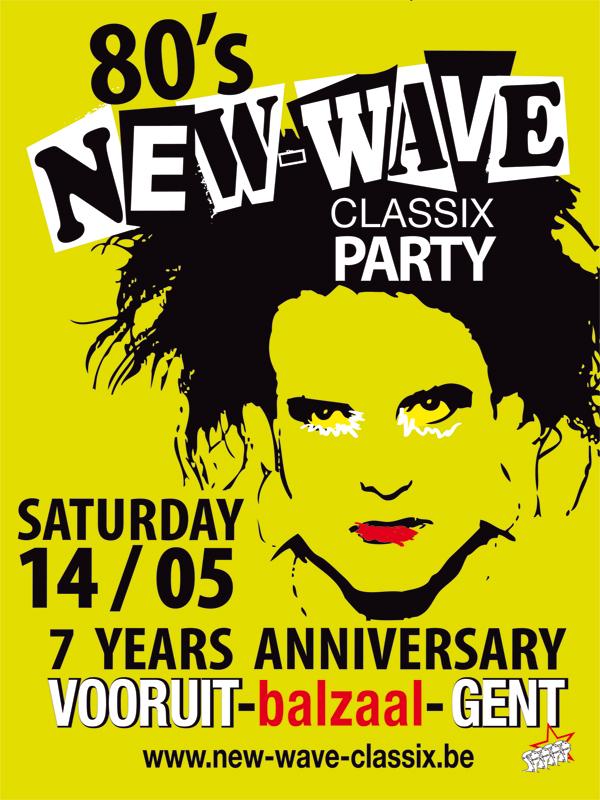 NEW-WAVE-CLASSIX PARTY, Vooruit (balzaal)
