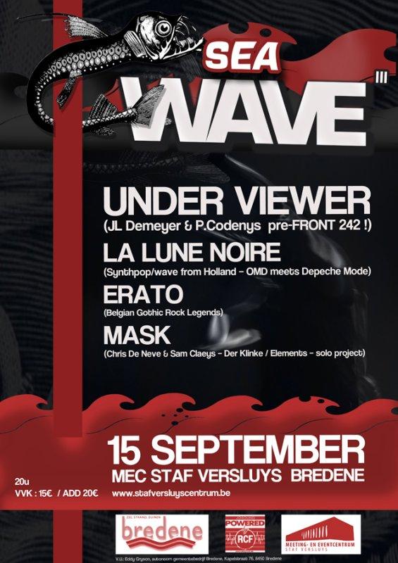 SEAWAVE III, Staf Versluyscentrum Bredene