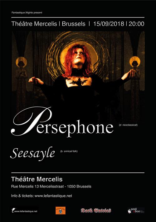 PERSEPHONE, SEESAYLE, Théâtre Mercelis