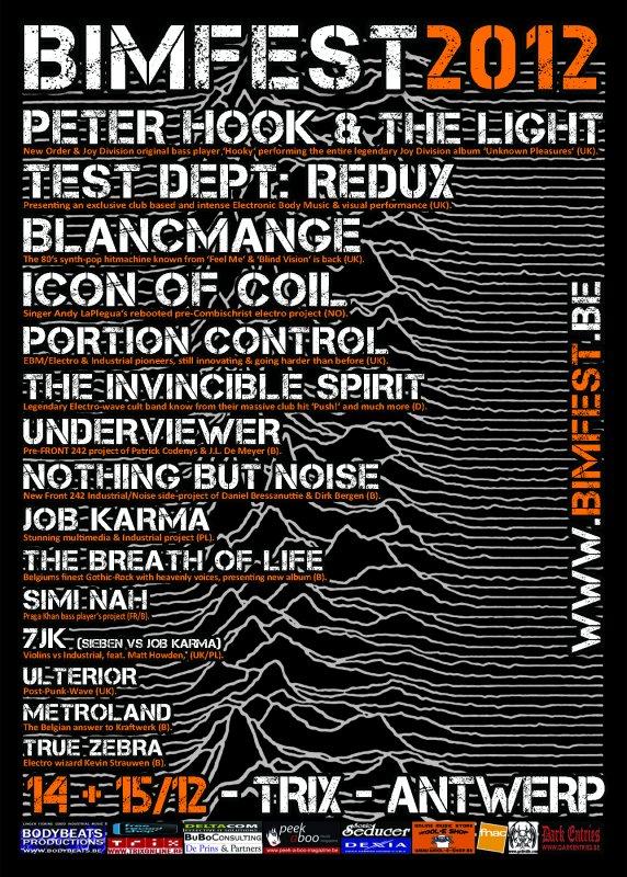 BIMFEST, 14+15/12, Trix Xl, Antwerp