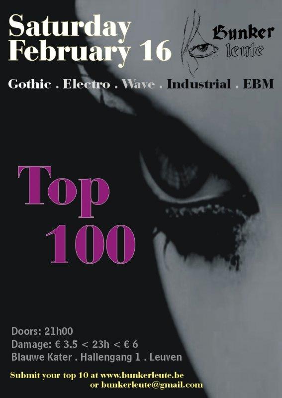 BUNKERLEUTE - TOP 100, Blauwe Kater, Hallengang 1, Leuven
