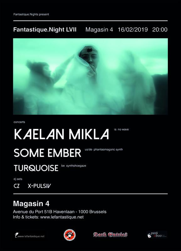 KAELAN MIKLA + SOME EMBER + TURQUOISE, Magasin 4
