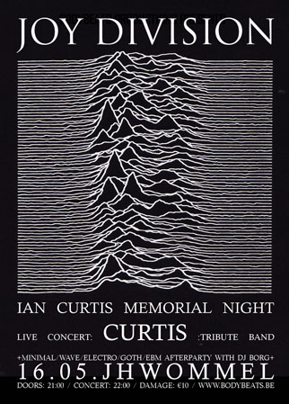 JOY DIVISION / IAN CURTIS MEMORIAL NIGHT WITH CURTIS, Jh Wommel, Fort 2 Straat, Wommelgem