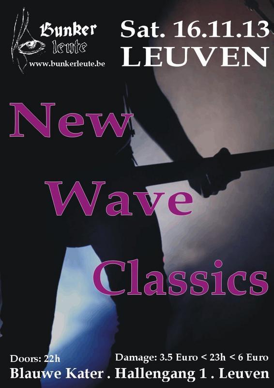 BUNKERLEUTE - NEW WAVE CLASSICS, Blauwe Kater - Hallengang 1 - Leuven