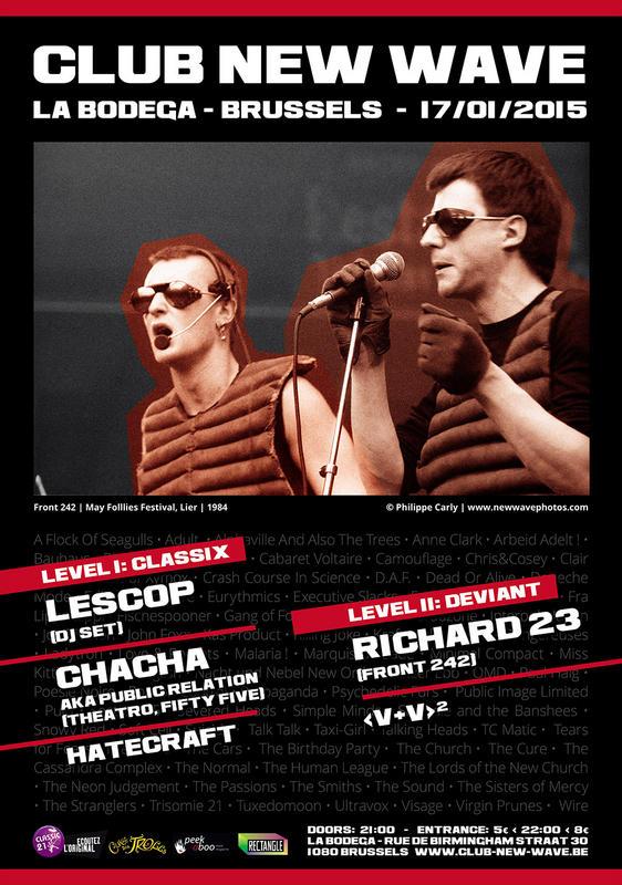Club New Wave - episode 13, La Bodega, Brussels, 17/01/2015