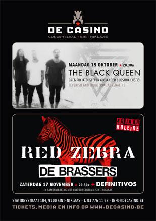 RED ZEBRA + DE BRASSERS + DEFINITIVOS, De Casino