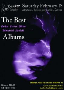 BUNKERLEUTE - THE BEST GOTHIC-ELECTRO-WAVE-INDUSTRIAL-NEOFOLK ALBUMS, Albatros - Leuven