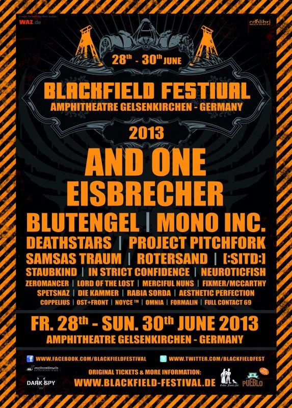 BLACKFIELD FESTIVAL, Gelsenkirchen