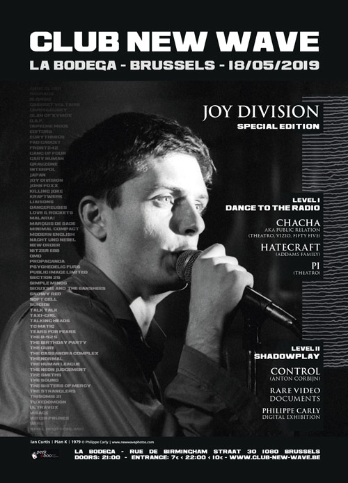 CLUB NEW WAVE - JOY DIVISION SPECIAL EDITION, La Bodega