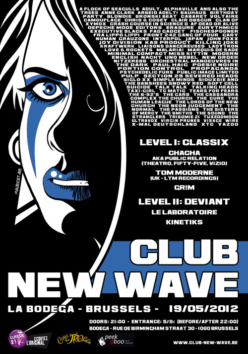 CLUB NEW WAVE - EPISODE 5, Bodega, Brussels