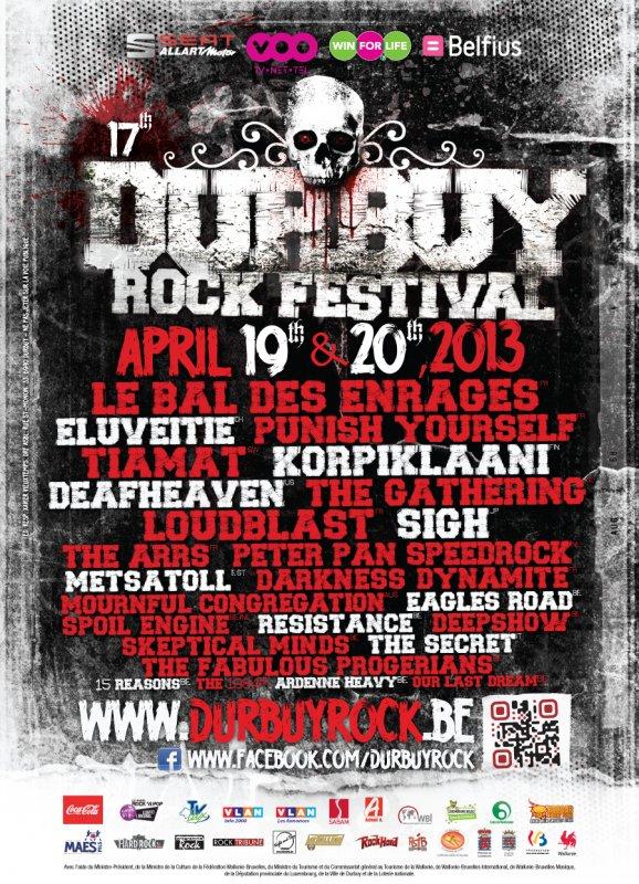 DURBUY ROCK FESTIVAL, Bomal-sur-ourthe