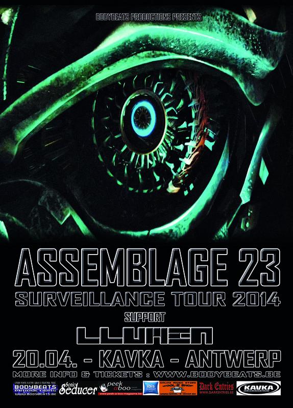 ASSEMBLAGE 23 + LLUMEN, Kavka, Antwerp