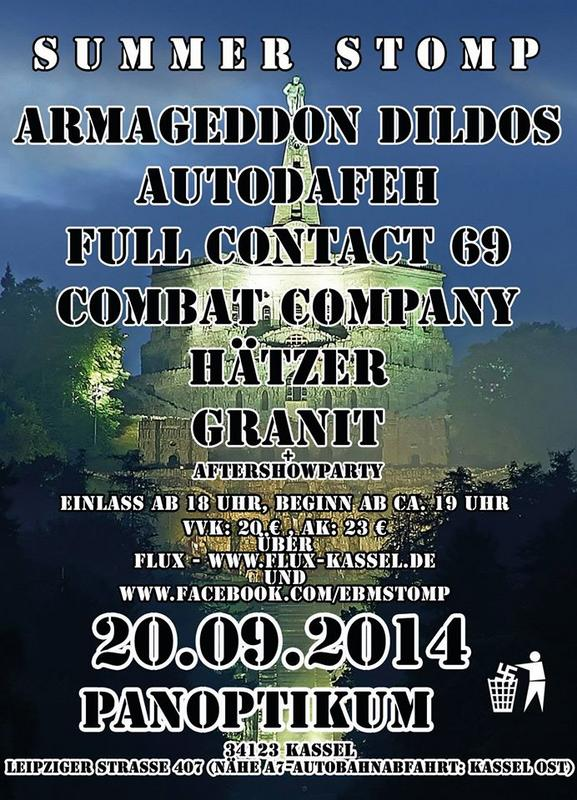 EBM SUMMERSTOMP 2014, Panoptikum Club Leipzigerstr. 407, 34123 Kassel (duitsland)