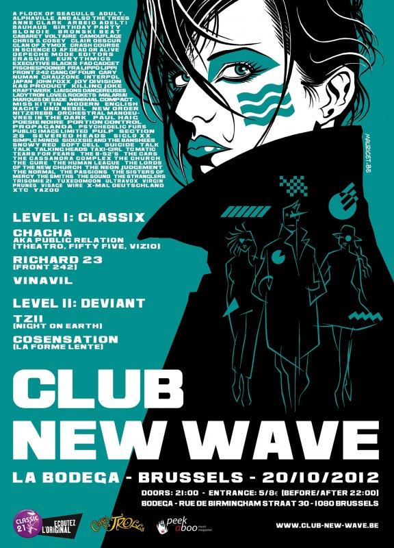 CLUB NEW WAVE PARTY - EPISODE 6, La Bodega - Brussels