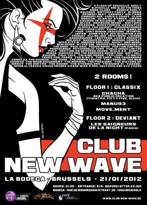 CLUB NEW WAVE - EPISODE 4, Bodega, Brussels
