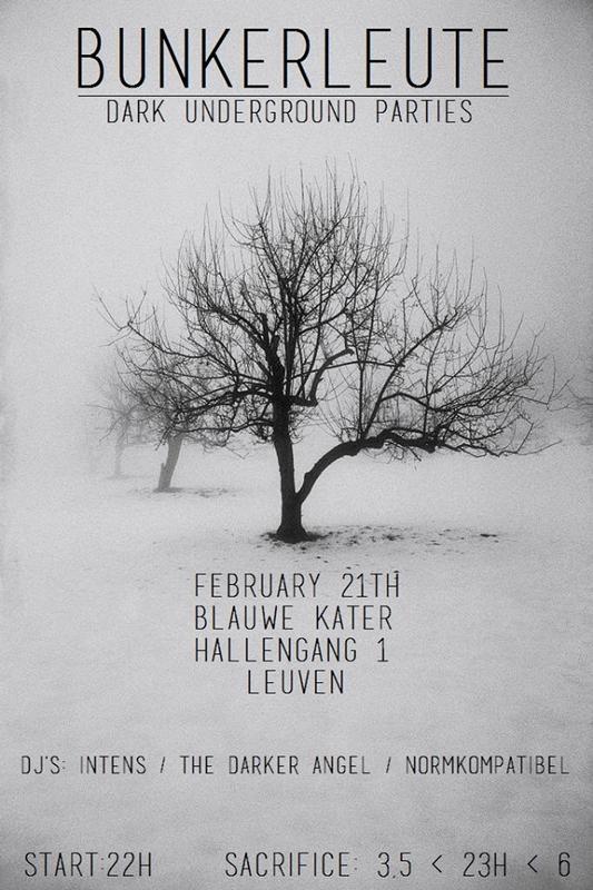 Bunkerleute party, Blauwe Kater, Hallengang 1, Leuven, 21/02/2015