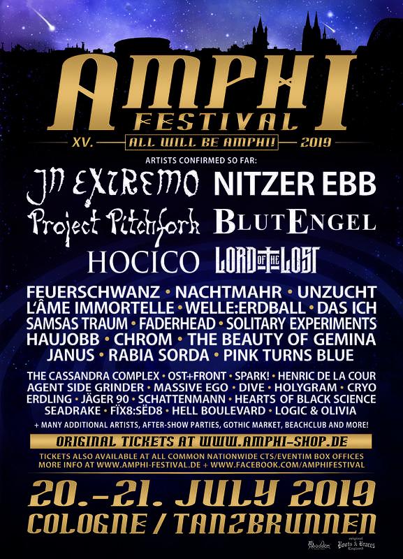 AMPHI FESTIVAL XV, Amphi Eventpark / Tanzbrunnen