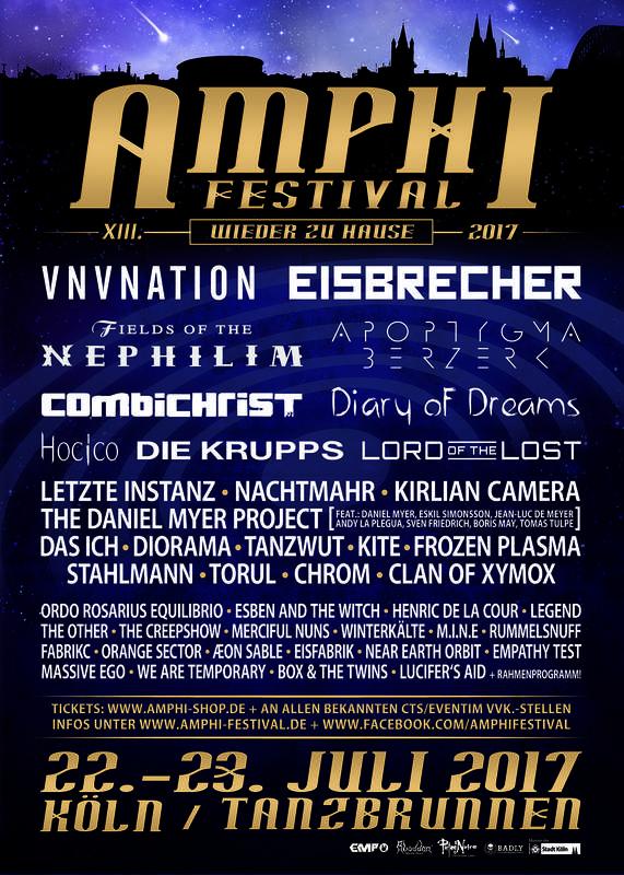 AMPHI FESTIVAL XIII, Amphi Eventpark / Tanzbrunen