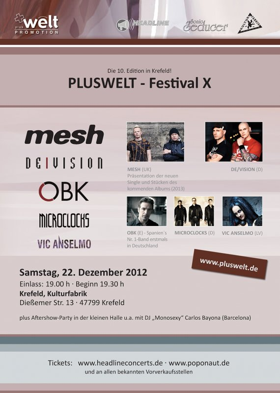 PLUSWELT FESTIVAL, Krefeld, Kulturfabrik