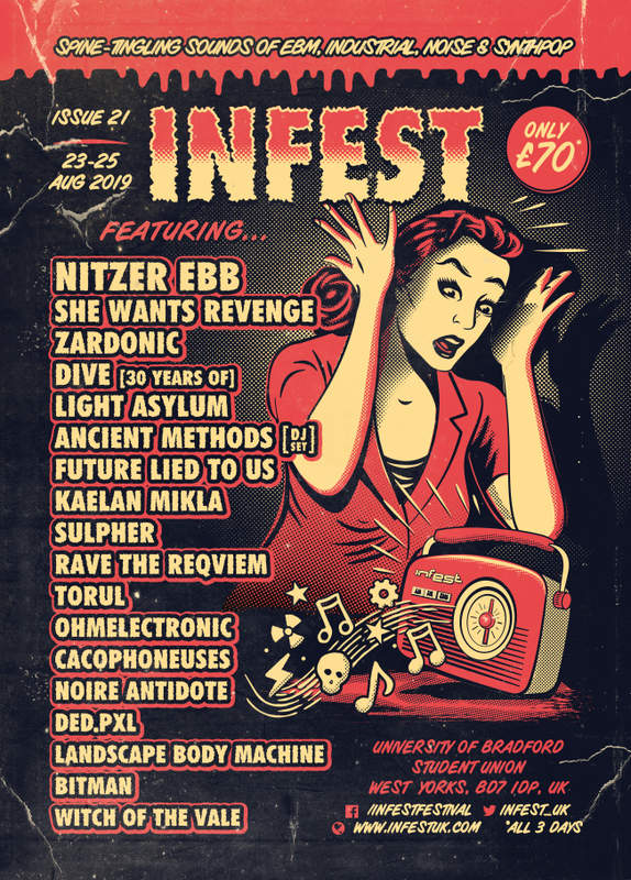 INFEST 2019 - DAY 1, University Of Bradford, 23/08/2019