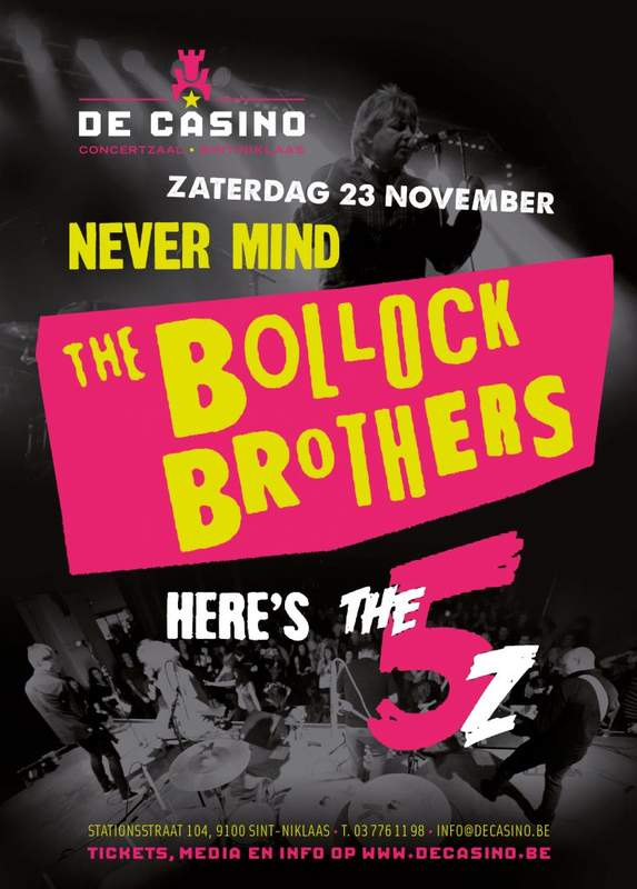 THE BOLLOCK BROTHERS + THE 5Z, De Casino