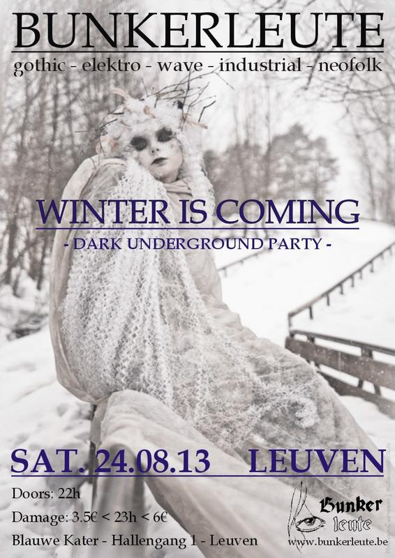 BUNKERLEUTE - WINTER IS COMING, Blauwe Kater - Hallengang 1 - Leuven