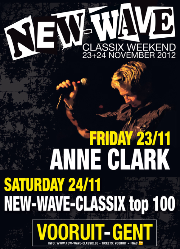 NEW-WAVE CLASSIX PARTY TOP 100, Gent, Vooruit (balzaal)