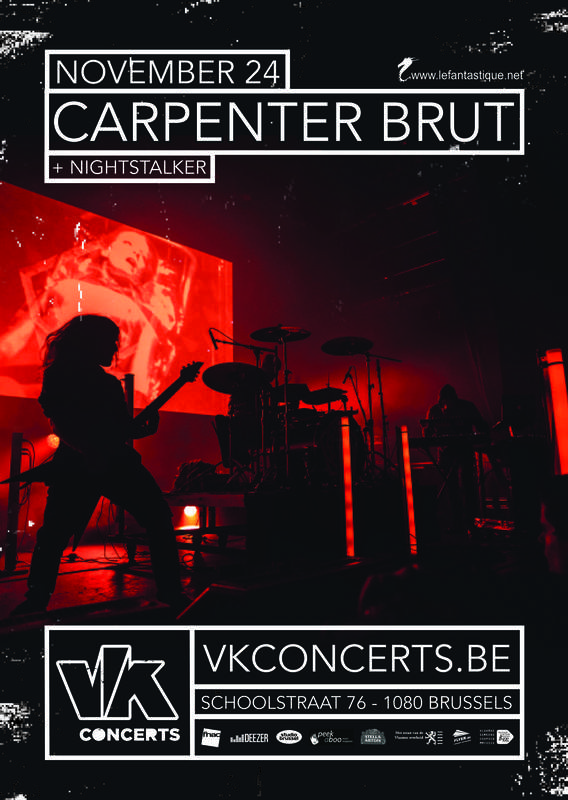 CARPENTER BRUT AND NIGHTSTALKER, Vk*