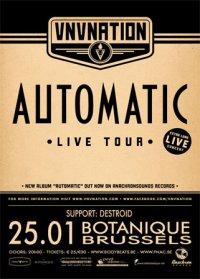 VNV NATION - AUTOMATIC TOUR 2012, Botanique (orangerie)