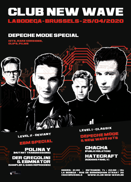 CLUB NEW WAVE PARTY #29 - DEPECHE MODE SPECIAL, La Bodega