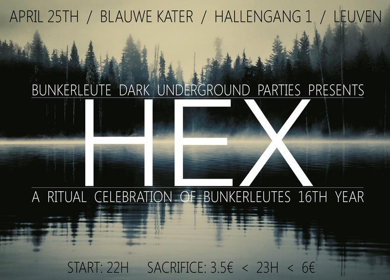 BUNKERLEUTE PARTY, Blauwe Kater, Hallengang 1, Leuven